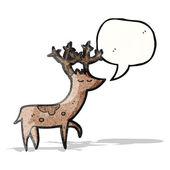 Cartoon stag — Stock Vector