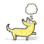 Happy cartoon dog — Stock Vector