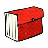 Comic cartoon business file — Stockvector
