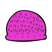 Comic cartoon hat — Stock Vector