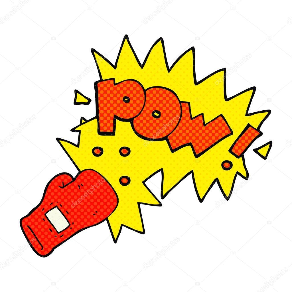 Dessin anim gant de boxe punch image vectorielle lineartestpilot 96700116 - Dessin gant de boxe ...