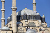Detail Of The Selimiye Mosque, Built By Mimar Sinan In 1575  — Стоковое фото