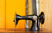 Old sewing machine. — Stock Photo