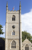 Minster Church of St Mary the Virgin in Reading, England — Stock Photo