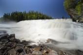 Rengsfallet waterfall  in Sweden. — Zdjęcie stockowe
