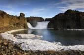 Hjalparfoss, waterfall — Stockfoto