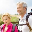 Mature Couple Hiking Together — Stock Photo #52520551