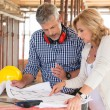 Two People Discussing Plan Project — Stock Photo #52520557