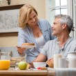 Having Breakfast At Home — Stock Photo #52520627