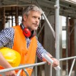 Smiling male construction worker — Stock Photo #52520661
