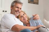 Mature Couple Hugging — Stock Photo