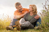 Mature couple having fun together — Stock Photo