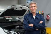 Proud Auto Mechanic — Stock Photo