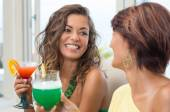 Friends At Happy Hour — Stock Photo