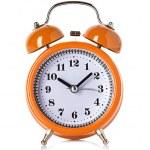 Alarm clock isolated on white background — Stock Photo #53425477