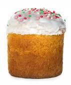 Easter cake isolated on white background — Stock Photo