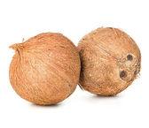 Coconut isolated on white background — Stock Photo