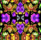 Beautiful floral ornament — Stock Vector
