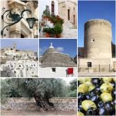 Landmark of Apulia, South Italy — Stock Photo