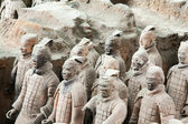 Terracotta warriors, China — Stock fotografie