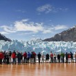 Watching Margerie Glacier in Alaska — Foto de Stock   #75985717