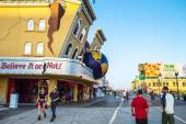 Along the Boardwalk Atlantic City — Stock Photo