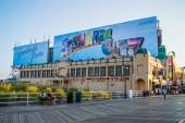 Atlantic city boardwalk tranquilla — Foto Stock