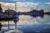 Inner Harbor Morning — Foto Stock