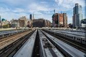 Hudson Rail Yards — Stock Photo