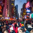 New Years Eve Crowd 2014 — Stock Photo #61412885