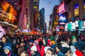 New Years Eve Crowd 2014 — Stock Photo