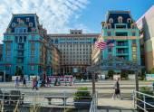 Quiet Atlantic City Boardwalk — Stock Photo