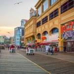 Sunset Atlantic City — Stock Photo #69717505