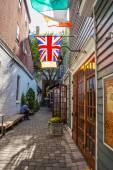 Restaurant Alley — Stock Photo