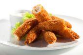 Chicken Sticks — Stock Photo