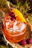Old Fashion Cocktail — Stock Photo