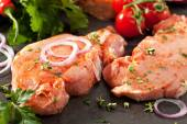 Pork Loin Steak — Stock Photo