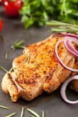Pork Loin Steak — Foto Stock