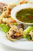Seafood Plate — Stock Photo