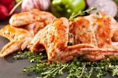 Alitas de pollo — Foto de Stock