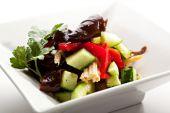 Cucumbers Salad — Stock Photo