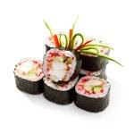 Japanese Cuisine - Sushi — Stock Photo #54597379