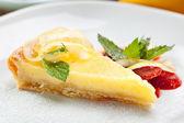 Crostata al limone — Foto Stock