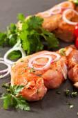 Varkensvlees lendenen biefstuk — Stockfoto