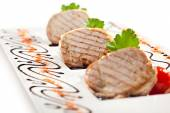 Meat Medallions — Stock Photo