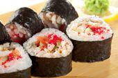 Cucina giapponese - sushi — Foto Stock