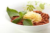 Spaghetti a la boloñesa — Foto de Stock