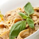Pasta with Mushrooms — Stock Photo #71045157