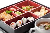 Sushi Box — Stock Photo