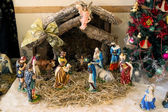 Christmas scene — Stock Photo